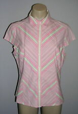 H&M Cotton Blend Casual Striped Tops & Shirts for Women