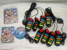 8 Playstation PS2 PS3 Remotes Quiz Game Buzz Controllers USB & Buzz Quiz TV Game