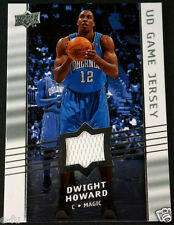 2008-09 UD Upper Deck DWIGHT HOWARD Game Used Orlando Magic NBA Jersey #GA-DH