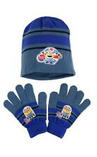 Boys Despicable Me Minions Hello London Knit 2Piece Beanie Hat & Gloves-One Size