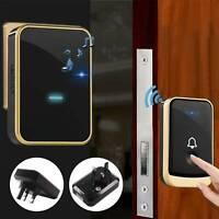 Wireless Doorbell Wall Plug-in Cordless Door Chime 300m Range Waterproof UK