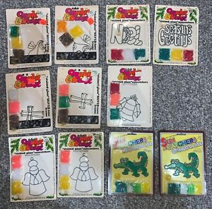 Vintage Makit Bakit Sun Catcher Craft Kit NIP New In Package