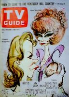 TV Guide 1966 Bewitched Elizabeth Montgomery Moorehead Tabatha Searle EX COA