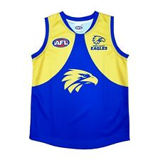 "AFL WEST COAST EAGLES KIDS FOOTY JUMPER/GUERNSEY ""NEW DESIGN FOR 2018"" - NEW"