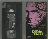 THE DARK HALF (READ DESCRIPTION 1ST) HORROR VHS video Movie STEPHEN KING