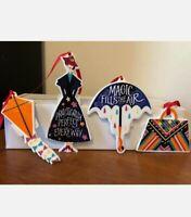 Lenox Disney Mary Poppins Returns 4-piece PorcelainChristmas Ornament Set NWT