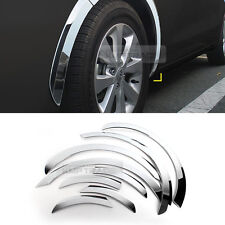Chrome Wheel Fender Lip Cover Guard Molding Trim 8Pcs For KIA 2012-17 Rio Sedan