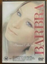 BARBRA STREISAND DVD COLLECTION - LIKE NEW CONDITION INCLUDES BOOKLET MINT COND