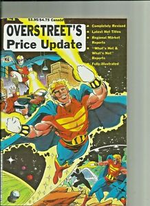 Overstreet's Price Update #8 1989 Plus Previews Comics for January 1990