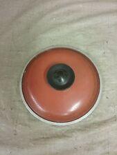 Vintage Red/Burnt Orange Club Sauce Pan Lid (6.75)