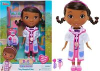 Doc McStuffins Toy Hospital Doc Doll  Ages 3+ New Toy Doctor Suit Mobile Talk