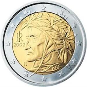 2002 ITALY  2 EURO   KM 217 1ST YEAR EUROPEAN UNION EURO'S  BU COINS   EURO