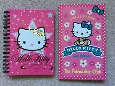 Hello Kitty notebook and friendship club book