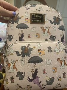 Loungefly Backpack Aristocats Keychains Disney