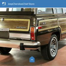 OEM Bumper nerf stripes guards - Jeep SJ Grand Wagoneer 1984-91 - Rear kit Only