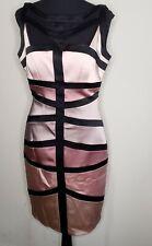 Jax Womens Sleeveless Dress Bandage Bodycon Size 10