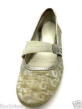 NERO GIARDINI ballerine Flats womens BEIGE  Made in Italy EU 38 USA 7,5