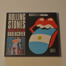ROLLING STONES - UNDERCOVER - ARGENTINA CD TOUR EDITION