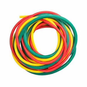 Cando W54615 10-5380 Yellow/Red/Green Low-Powder Exercise Tubing PEP Easy