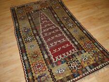 Antique Anatolian Yahyali Prayer Kilim Of Superb Design And Colour, Circa 1900.