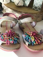 AGATHA RUIZ DE LA PRADA sandały Sandalen pompony Pompons roz 28