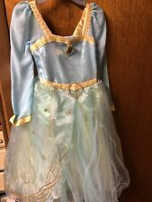 Disney Store Dress Merida  Brave Princess