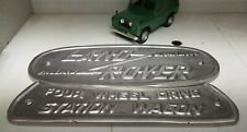 LAND Rover Serie 1 107 2 vasca CAST STATION WAGON BADGE Birmingham 332670 3064 07