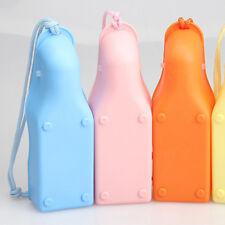 Outdoor Travel Pet Water Bottle Dog Drinking Bottle Bowl Random Color