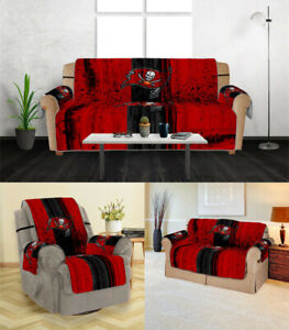 Tampa Bay Buccaneers Sofa Cover 1 2 3 Seater Couch Protector Loveseat Slipcover
