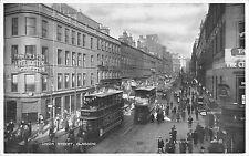 BR75267 union street double decker tramway tram  glasgow scotland