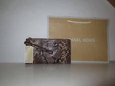 Michael Kors MK LG ZIP Clutch Wristlet Tasche Taschen Handtasche Brieftasche neu