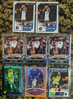 Lot of 8 Jarrett Culver 2019-20 Chronicles Rookie Timberwolves 🔥 Flux Parallels