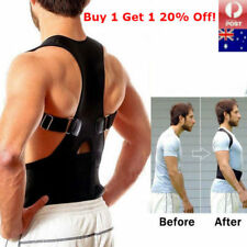 Lumbar & Lower Back Support Belt Brace Strap Posture Waist Trimmer Pain Relief
