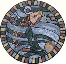Nautical Accent Mosaic Mosaic Designs Marine Life&Nautical Mosaic Tile