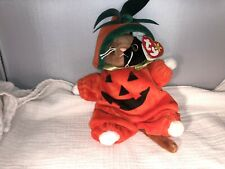Ultra Rare Ty Chip Beanie Baby with Ultra Rare Halloween Costume With Errors