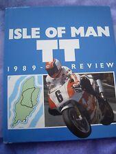 Multi Firmado Isle of Man TT 1989 libro de revisión, Fogarty, Molyneux, Nación