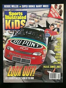 February 1999 Sports Illustrated For Kids Look Out! Magazine Jeff Gordon
