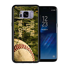 For The Love Of The Game Baseball For Samsung Galaxy S8 2017 Case Cover by Atomi