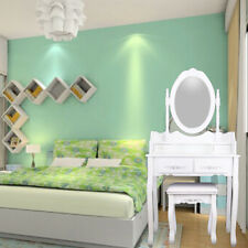 Girl White Dressing Table Drawer Stool Mirror Bedroom Furniture Makeup Desk