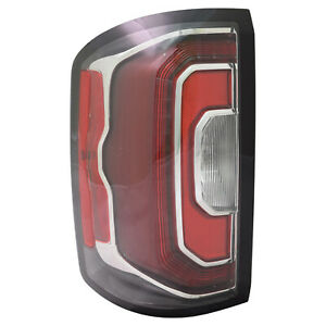 GM2800295C New Replacement Driver Tail Light Assembly Fits 16-19GMC Sierra 1500