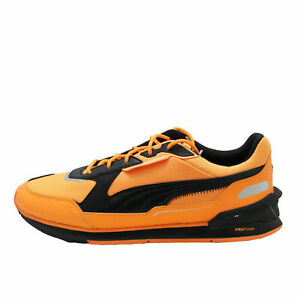 Puma Bmw Motorsport Low Racer Orange Glow / Black Men's Sneakers 30693901
