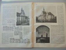 1911 23 Oberzolldirektion Hannover Bremen Kaiserbrücke Teil 2 Bonn Institut