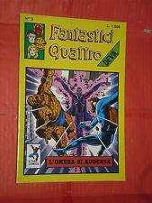 FANTASTICI QUATTRO -4 - DEVIL-  star comics-  N°3 c - ANNO 1988-  lire 1,500