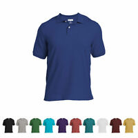 Logan & Martin Big Men's Heavyweight 100% Cotton Pique Polo Golf Shirts 4XL-7XLT