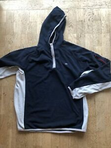 Nike Hoodie XXL Blue And Grey Lightweight