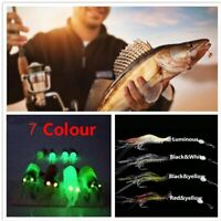 Creative Soft Shrimp Fake Bait Hook Worm Silicone Prawn Lure Sea Fishing
