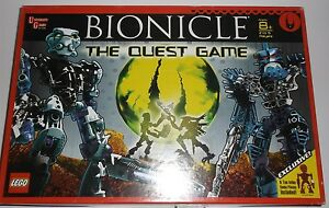 LEGO BIONICLE THE QUEST GAME BOARD GAME EXCLUSIVE 6 TOA INIKA GAME PIECES