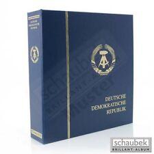 Schaubek KOV-64601B Album DDR 1949-1966 Brillant im Kunstleder-Schraubbinder bla