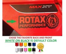 (#416) SET 6.5'' ROTAX PERFORMANCE SKI-DOO BRP CAN-AM STICKER DECAL VINYL