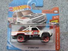 Hot Wheels 2018 #275/365 1987 DODGE D100 white HW Hot Trucks New casting 2018